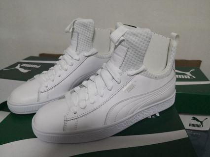 EU 37.5 Puma Baket Pierce EP Women Sneakers - 100% Authentic White Puma SNEAKERS brand new with box