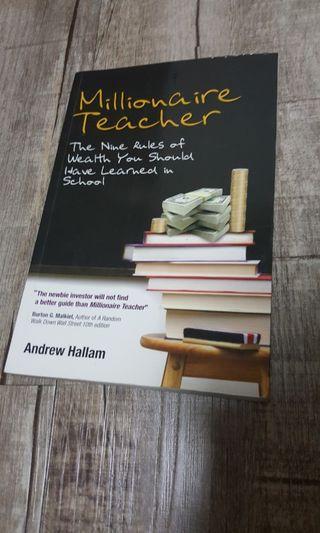 🚚 Millionaire Teacher by Andrew Hallam