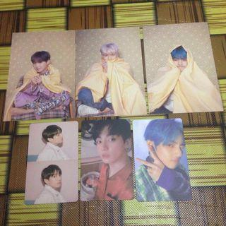 BTS MAP OF THE SOUL: PERSONA PC & POSTCARD