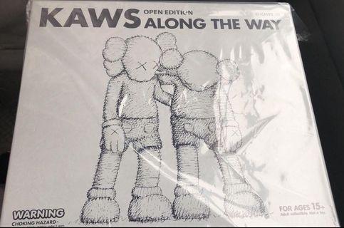 Kaws Along the Way (grey)