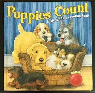 親子:Puppies Count 精裝本 床邊故事