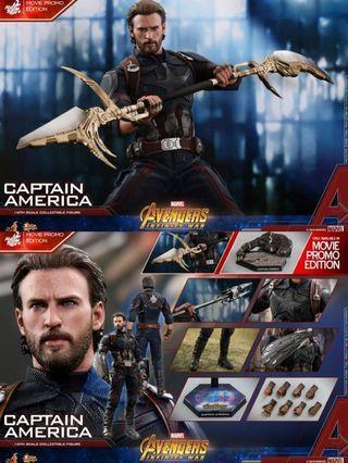全新未開封Hottoys Captain America 會場版 MMS481