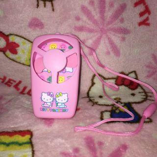 Hello Kitty Small Battery Operated Fan