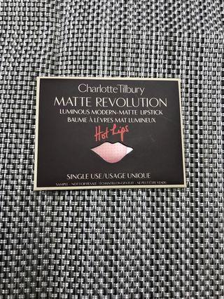Charlotte Tilbury Matte Revolution Lipstick sample