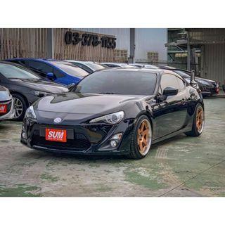 【FB搜尋桃園阿承】豐田 超人氣FT86 GT86 2013年 2.0 黑色 二手車 中古車
