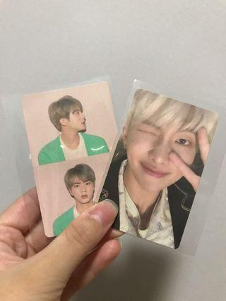 [wts] bts persona : map of the soul photocards
