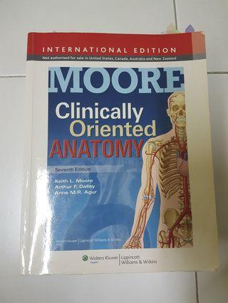 Moore's Clinically Oriented Anatomy 7th Ed