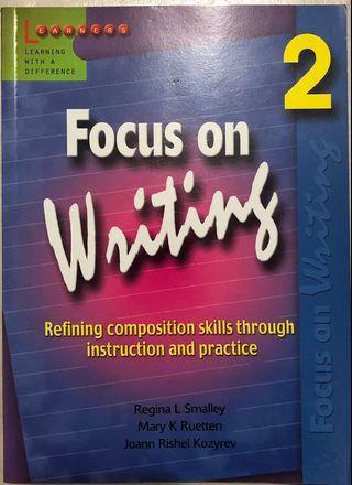 🚚 Focus on Writing