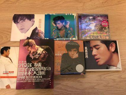 郭富城簽名cd+dvd+ep