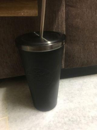 Starbucks Black Matte 16oz thumbler