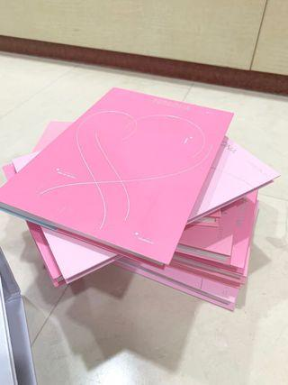 BTS Map of the Soul: PERSONA Unsealed Albums