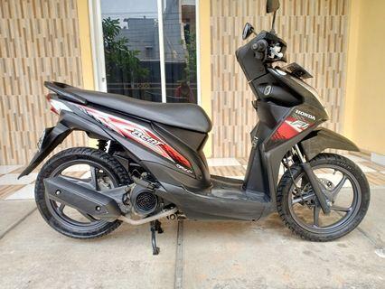 Honda Beat 2014 Black NEGO