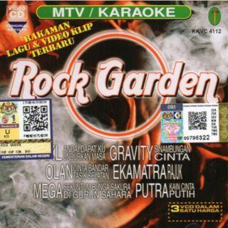 ROCK GARDEN 3VCD Karaoke AXL Gravity Olan Ekamatra Mega Putra