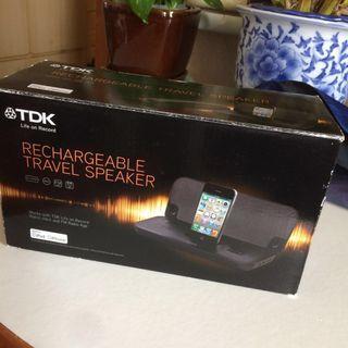 TDK Rechargeable Travel Dock Speaker
