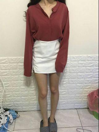 🚚 磚紅襯衫