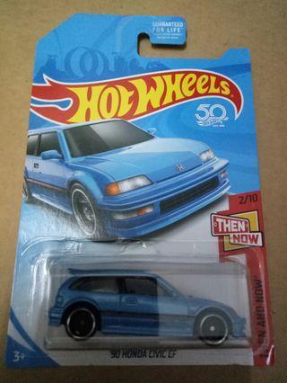 Hot Wheels honda ef kmart blue