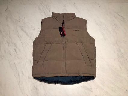 Weather proof Padded Vest with Hoodie