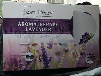 Jean Perry memory pillow lavender