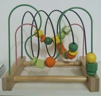 Free: Playdough set + Bead roller coaster
