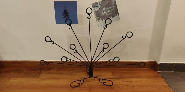 Greeting Card or Photo Holder Wrought Iron