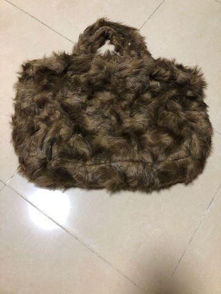 毛毛手挽袋