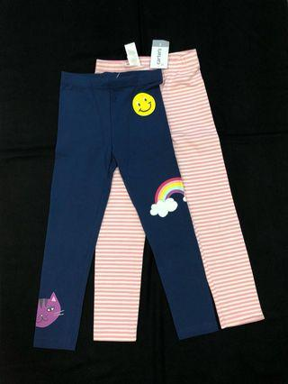 (5Y) BNWT Carter Leggings Set