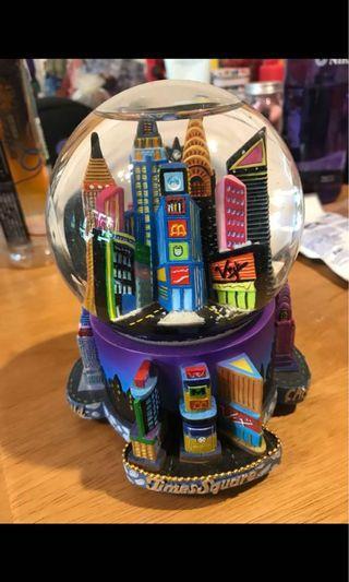 水晶球 雪球 snow globe New York 列支敦斯登 蘑菇