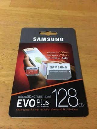 (Last pc)Samsung EVO Plus with SD Adaptor @128GB