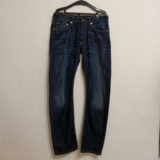 4扣男士牛仔褲$150