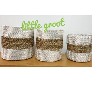 Bamboo basket - design 2