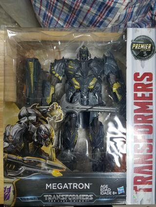 全新未開封電影版Transformers Movie 5 the last knight Megatron