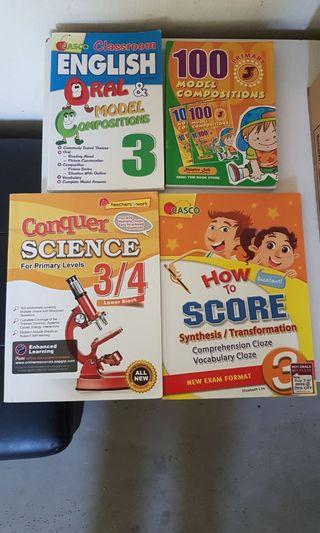 Primary 3 Revision Books