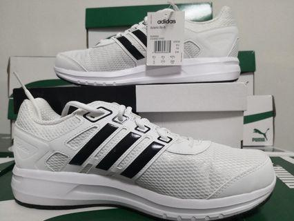 US 9 Addidas Duramo Lite Men's Running Shoes - Addidas White Sneakers 100%Authentic with Box & Tag