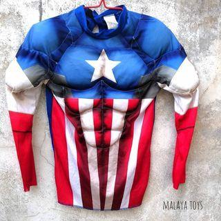 Marvel Avenger : Captain America Kid Cosplay