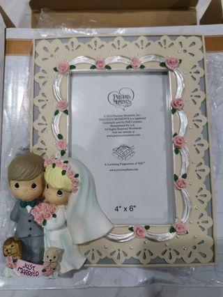 PRECIOUS MOMENTS wedding series photo frame