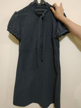 Dress Simplicity Dark Grey