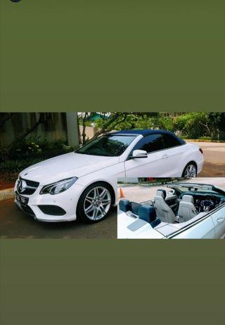 Mercy E200 Cabriolet limited blue edition