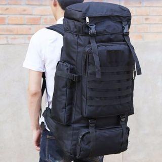 70L Desert Storm Exp.2 Travel Backpack Haversack Bag - Instock