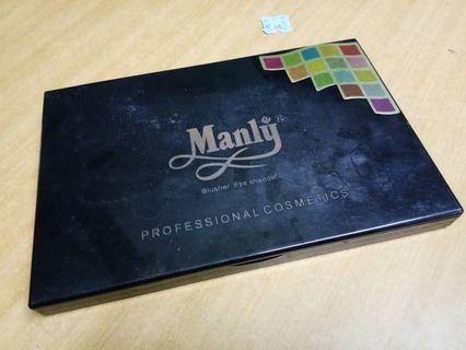 Manly Eyeshadow 120 pcs Colour
