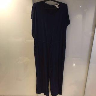 H&M Jump Suit Dark Blue