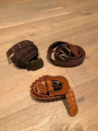 🚚 Assorted Belts