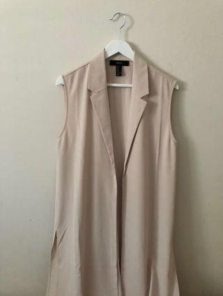 sleeveless duster size m