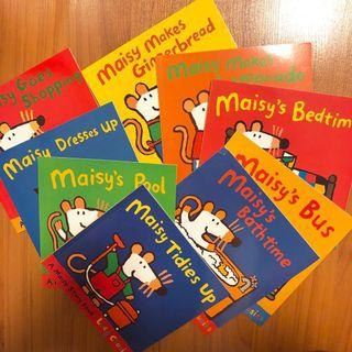(Free Postage) 9 x Maisy Mouse Toddler Child Story Books