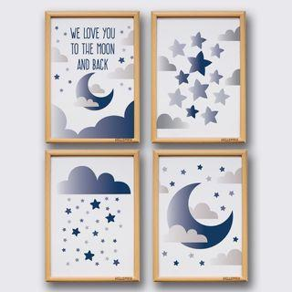 Starry Starry Night Posters for Children Room