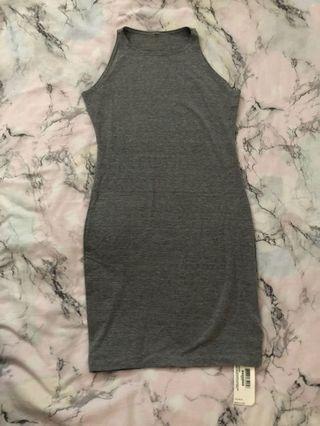 American apparel cotton mini dress nwt size L