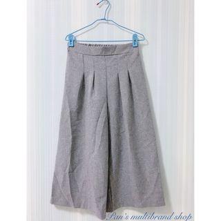 灰色 休閒 鬆緊帶 寬褲 長褲 二手