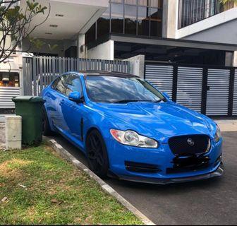 Jaguar XF for rent