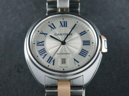 Cartier Cle de Cartier Automatic 18 ct. Rose Gold / Stainless Steel 40 mm W2CL0002