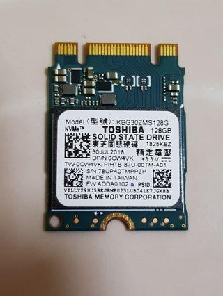 Toshiba M.2 PCIe 2230 SSD drive 128GB for Desktop PC