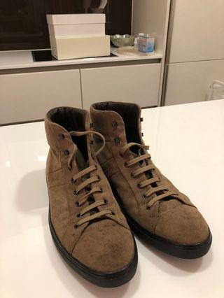 Tods suede high shoes